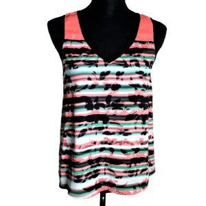 My Michelle Women's Size S Solid & Striped Tank